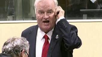 Ratko Mladic zu lebenslang verurteilt