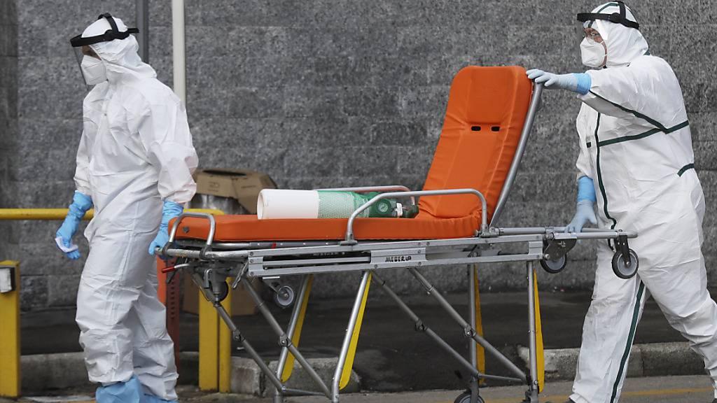 Rekord bei Corona-Toten in Italien - fast 1000 Tote in 24 Stunden