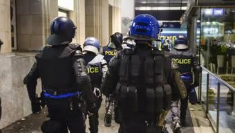 Die Polizei griff gemäss einer Medienmitteilung schnell ein. (Symbolbild)