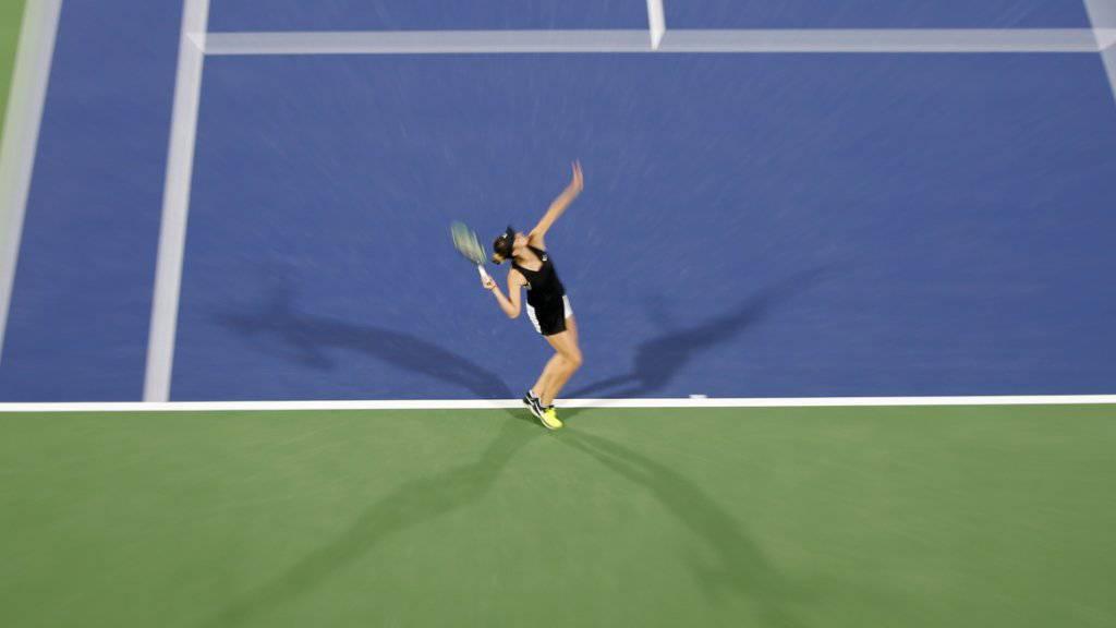 Belinda Bencic tritt in Dubai überragend auf