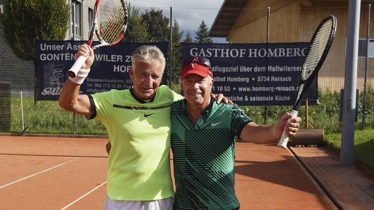 Bruno Rütti gewann das Finalspiel gegen Amadeo Lüscher