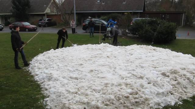 Das Schneeherz in Biberist