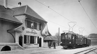 Jubiläum der «Elektrischen Bahn» zwischen Solothurn und Bern