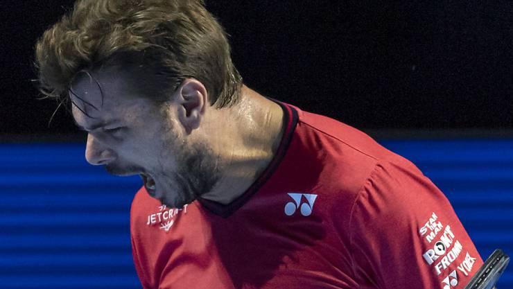 Noch lange nicht genug: Auch mit bald 35 Jahren geht Stan Wawrinka mit grossen Ambitionen in die neue Tennissaison