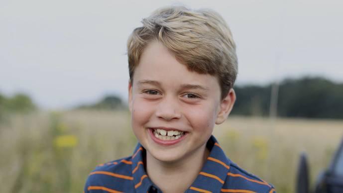 Prinz George ist acht Jahre alt – Geburtstagsfoto erinnert an Philip