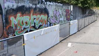 Plexiglasscheiben in Hägendorf zerstört