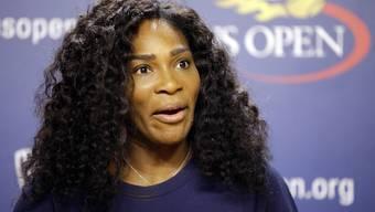 Serena Williams gibt sich vor dem US Open betont lässig und stellt sich nicht in den Mittelpunkt.
