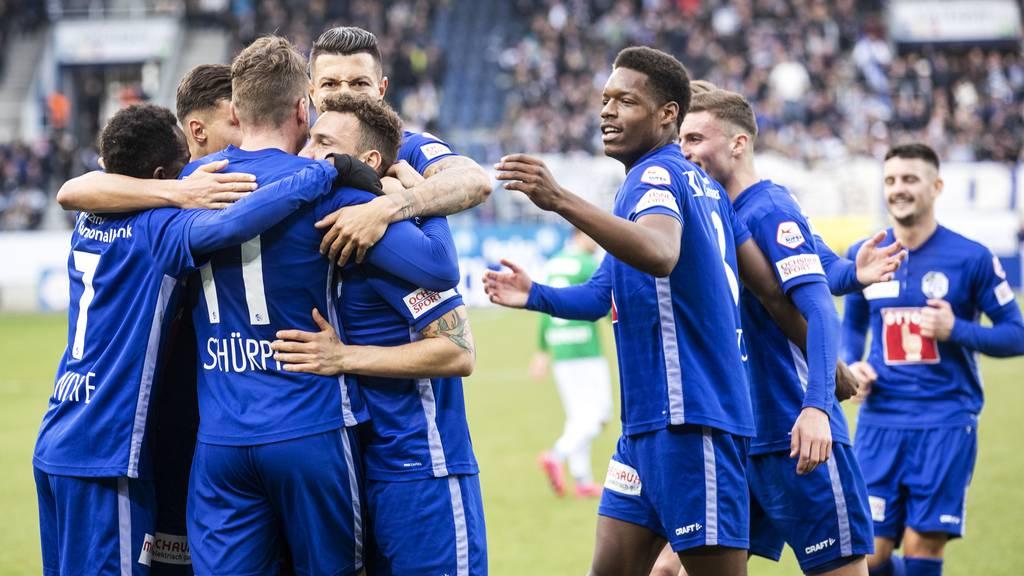 So wie bereits Anfang Jahr wollen die Luzerner auch morgen gegen St. Gallen jubeln.