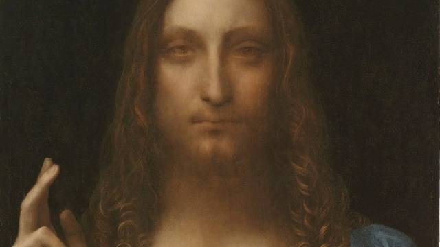 Ausschnitt aus dem Gemälde da Vincis, das ab November in der National Gallery in London ausgestellt wird (Archiv)