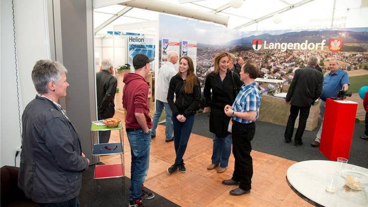 Die Langendörfer Gewerbeausstellung Galor lockte viel interessiertes Publikum an.
