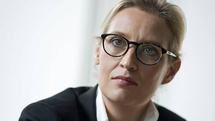 Laut Medienberichten verlässt Alice Weidel samt Familie die Stadt Biel und wird nach Berlin ziehen. (Archivbild)
