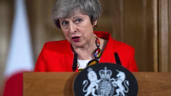 """""""Es ist Zeit, die Spielchen zu vergessen"""": die britische Premierministerin Theresa May. (Archivbild)"""