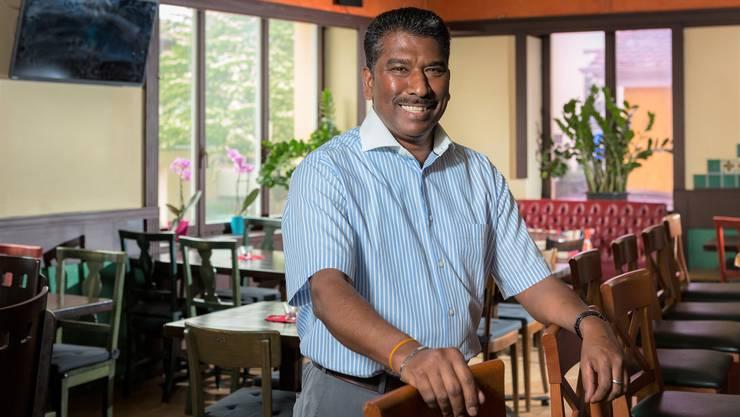 Shan Balasingam bietet im «Madre» Spezialitäten aus seiner Heimat Sri Lanka an.