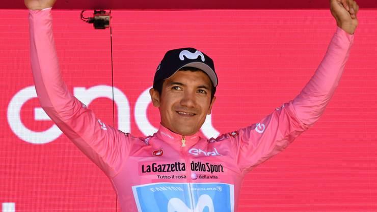 Richard Carapaz - der erste Giro-Gesamtsieger aus Ecuador