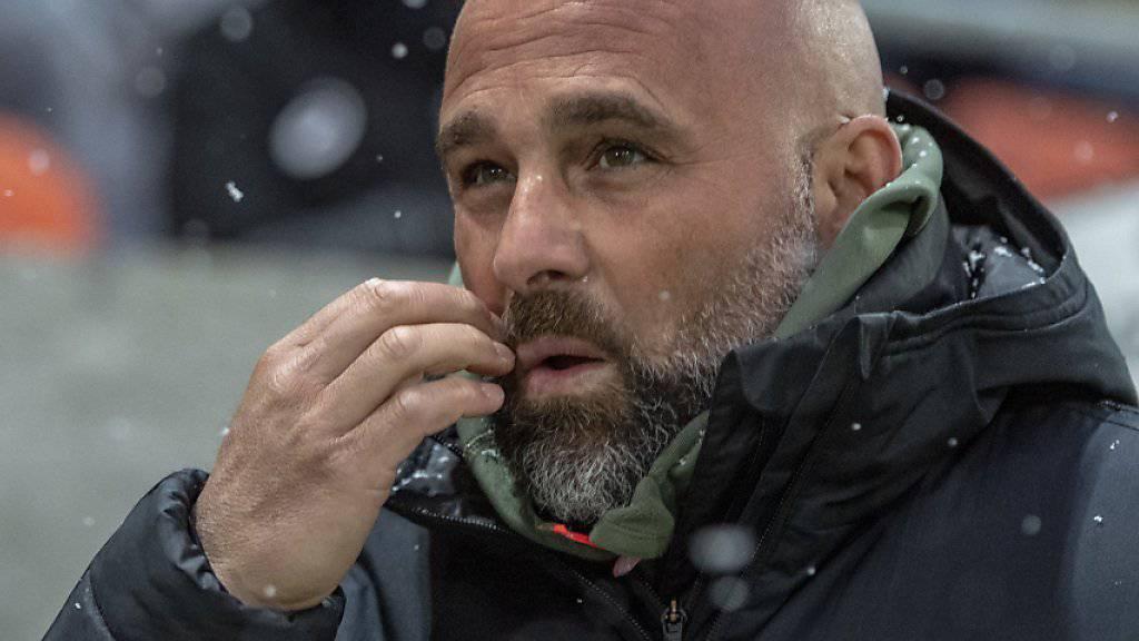 Lausannes Trainer Giorgio Contini muss weiter hoffen und bangen
