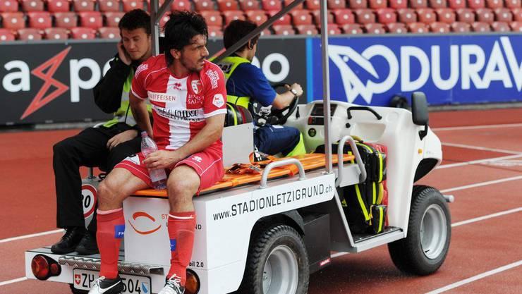 Das wars: Gennaro Gattuso wird mit dem Wagen davongefahren.