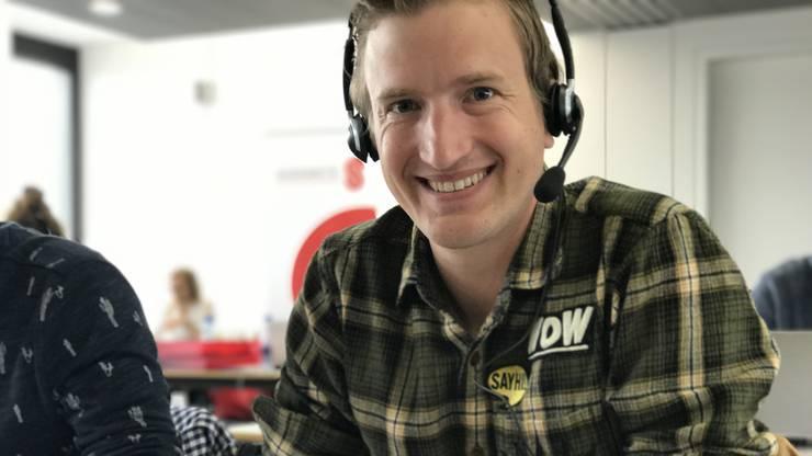 Comedian und Moderator Stefan Büsser