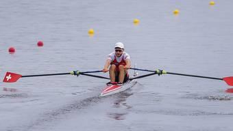 Michael Schmid rudert an der WM in Sarasota an den Medaillen vorbei