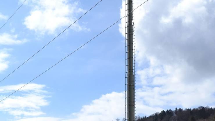 In Bottenwil steht bereits eine Antenne in der Nähe der Badi.nina amann