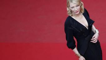 """Normalerweise schreitet Schauspielerin Cate Blanchett (""""Lord of the Rings"""") selber über den roten Teppich in Cannes. An der kommenden Ausgabe wird die 48-jährige Australierin der Jury des Filmfestivals vorsitzen. (Archivbild)"""