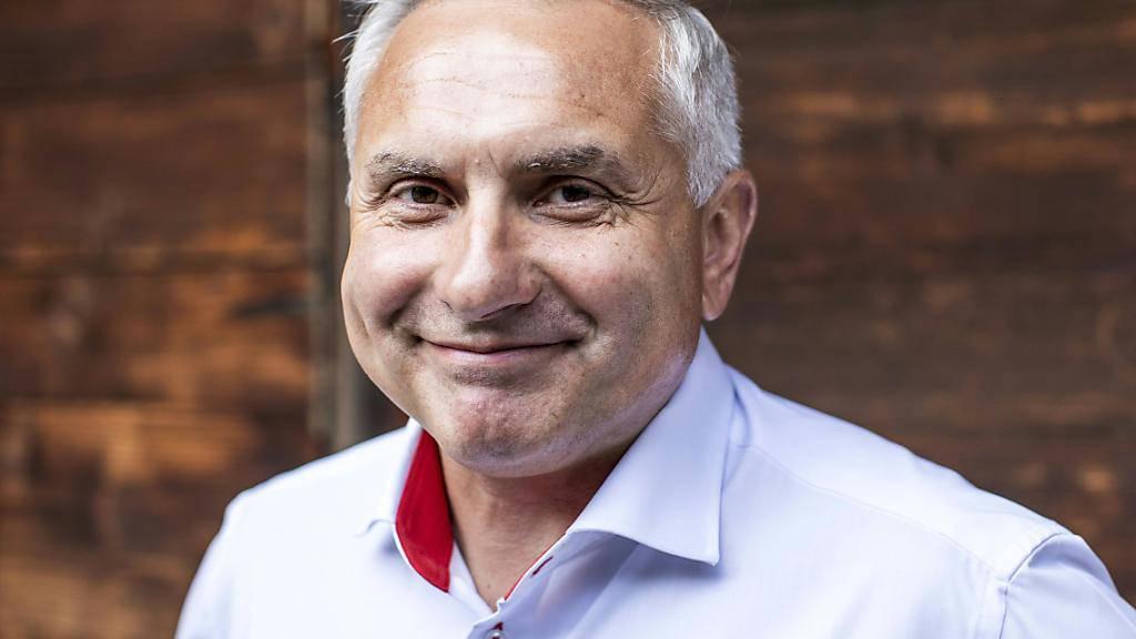Samuel Feller, der oberste Chef am Eidgenössischen Schwingfest