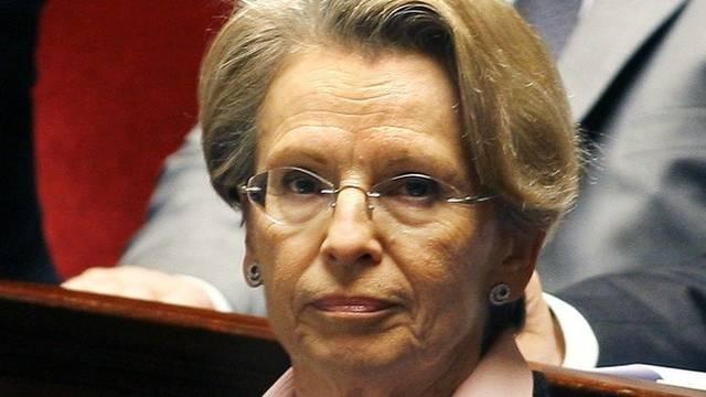 Die französische Aussenministerin Michèle Alliot-Marie (Archiv)