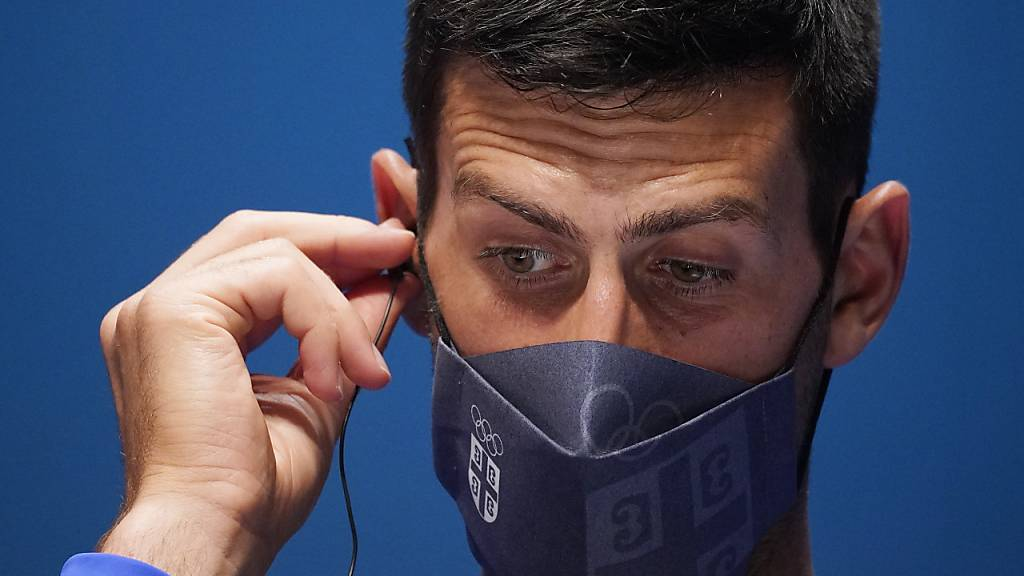 Auch Novak Djokovic muss mit den Kräften haushalten