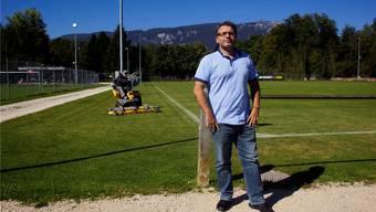 Mike Marti, Präsident des FC Zuchwil, kann sich eine neue Heimat vorstellen, wenn es eine «gute Lösung für alle» gibt.