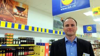 Andreas Pohl, Chef von Lidl Schweiz und seit 1997 für den Konzern tätig. M. Duchene/EQ