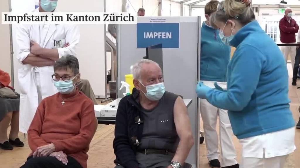 Impfstart im Kanton Zürich
