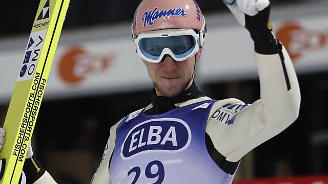 Schlussspringer Martin Koch sicherte Österreich den WM-Titel