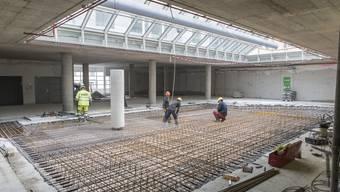 Besuch auf der Baustelle im Migros an der Wengistrasse in Solothurn