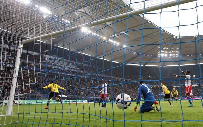 Eindrücklicher Fussballtempel: das Hamburger Volksparkstadion.