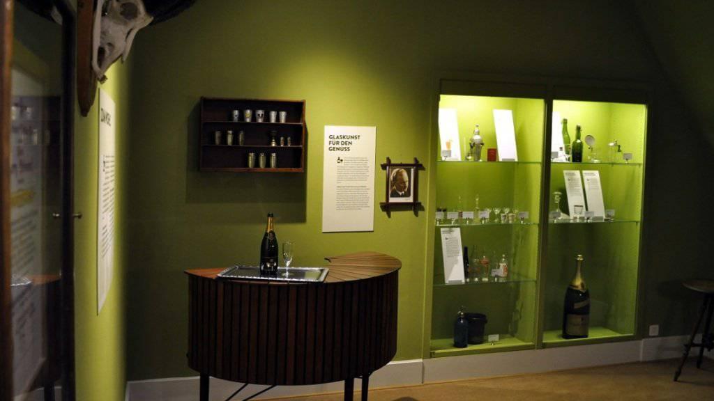 So präsentiert sich die neue Dauerausstellung des Gastronomiemuseums.