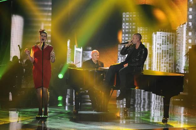 Nicole und Stress singen ihr Duett im Finale von The Voice of Switzerland