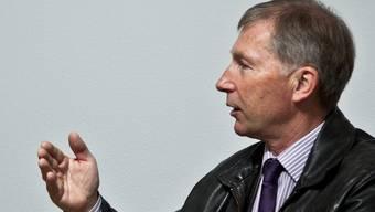 FCA-Präsident Alfred Schmid kann sich über den Konkurs der AC Bellinzona nicht freuen. Chris Iseli