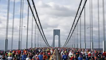 Tausende von Läufer werden am Sonntag den berühmten New-York-Marathon bestreiten