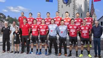 Das Team des STV Baden.
