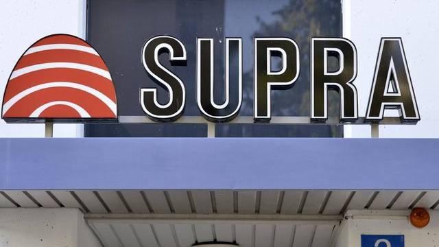 Das Logo der konkursiten Supra (Archiv)