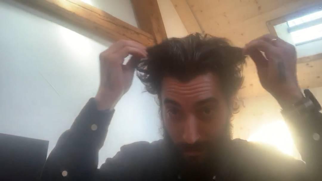 """""""Lasst es wuchern!"""": die Video-Botschaft von Samir Iseini, Coiffeur in Aarau"""
