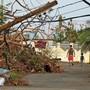 Mit der Erderwärmung könnten die Klimaextreme häufiger werden. So wie hier beim Hurrikan Maria auf Puerto Rico.