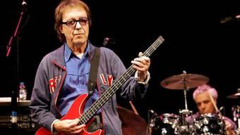 Der alte Bekannte als Stargast: Bill Wymann spielt wieder mit den Rolling Stones (Archiv)