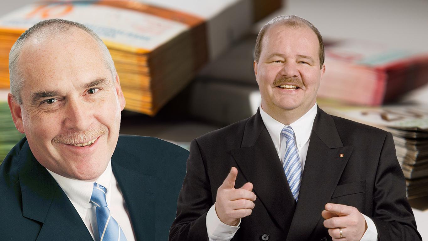 Verfahren gegen Urs Dickerhof und Felix Müri eingestellt.