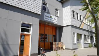 In diesem Gebäude befindet sich die Moschee des Islamischen Vereins An`Nur.