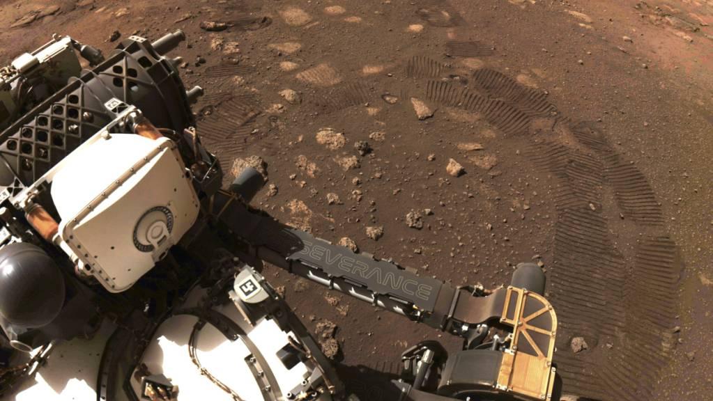 Der Mars-Roboter «Perseverance» befindet sich weiter auf Erkundungstour auf dem Roten Planeten. (Archivbild)