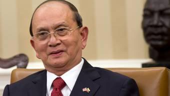 Burmas Präsident Thein Sein im Weissen Haus