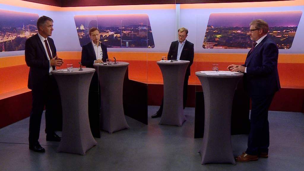 Wahlkampf-Talk «Bäregrabe»: Graffenried, Eicher und Righetti