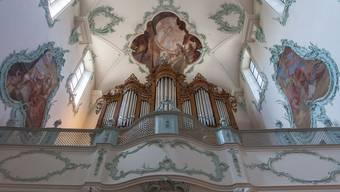 Die Orgel in der St. Martinskirche.