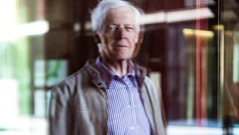 Peter Dold (80) in Aarau: «Die Leute machen sich auf ihre Weise durchaus Sorgen um einen.» Mario Heller