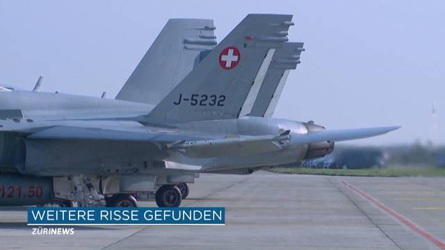 Luftwaffe muss drei FA-18 Flieger entfernen